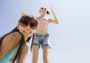 夏は女性が最も開放的かつエロくなる季節!